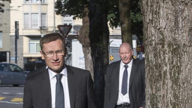 Adi Achermann und Daniel Bussmann müssen im Fall Malters vor