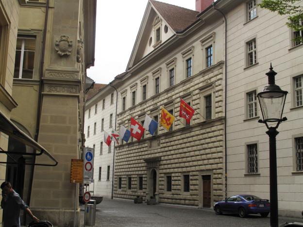 Im Luzerner Regierungsgebäude wird ein Sitz frei.