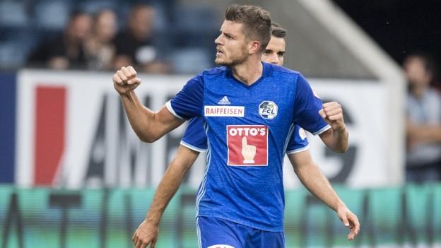Pascal Schürpf geht für Luzern weiter auf Torjagd.