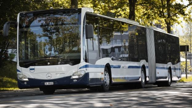 Ein Bus der Zugerland Verkehrsbetriebe ZVB.