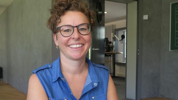 Jodlerin Nadja Räss im Portrait.