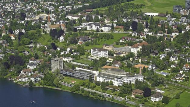 Areal des alten Kantonsspital