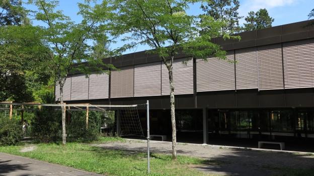 Das Schulhaus Grenzhof in Luzern stammt aus den frühen 1960er-Jahren - und soll nun unter Denkmalschutz gestellt werden.