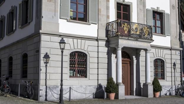 Das Gebäude des Landgerichts Uri in Altdorf