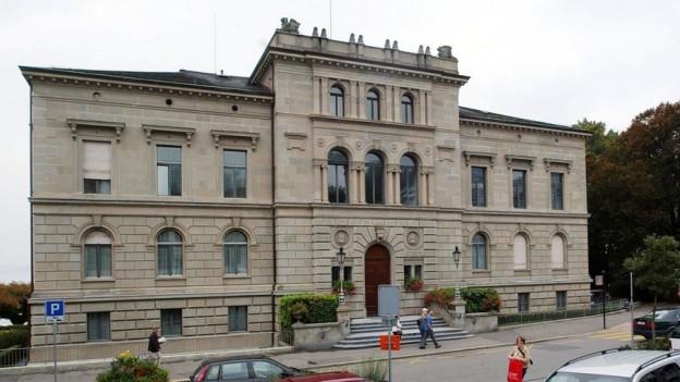Das Zuger Regierungsgebäude.