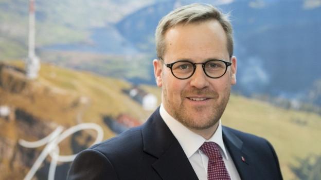 Porträt des Schwyzer Finanzdirektors Kaspar Michel.