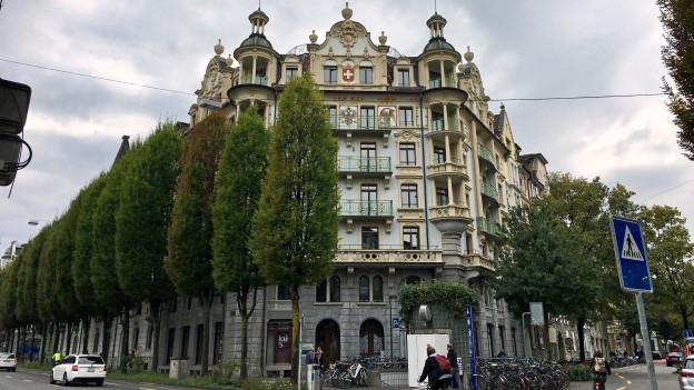 Gebäude der Staatsanwaltschaft Luzern
