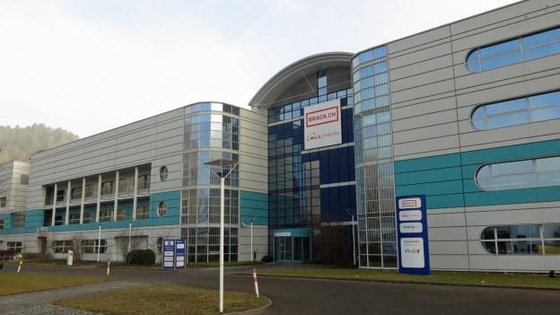Aussenansicht des Competec-Logistikzentrums in Willisau.