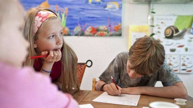 Laugetreues Schreiben für Erstklässler wird in Nidwalden abgeschafft.
