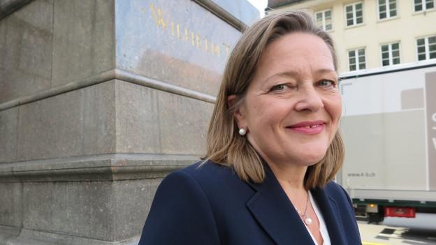 Heidi Z'graggen will als erste Urnerin in den Bundesrat.