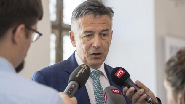 Der Nidwaldner FDP-Ständerat Hans Wicki will Bundesrat werden.