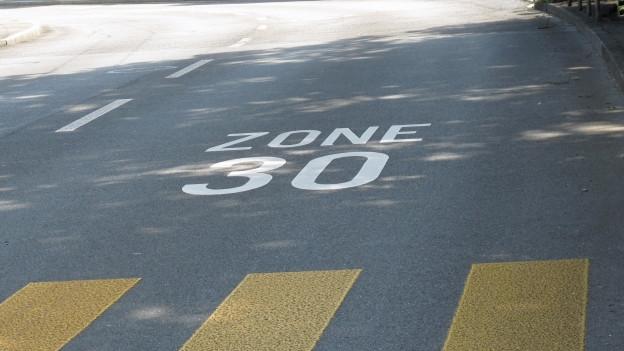 Tempo-30-Signalisation: Gemeinden haben weniger zu sagen