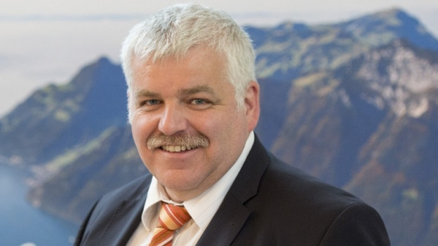 Der Schwyzer Regierungsrat Othmar Reichmuth