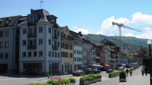 Stadt Zug Seepromenade