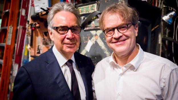 Howard Shore (links) und Ludwig Wicki kennen sich seit Jahren.