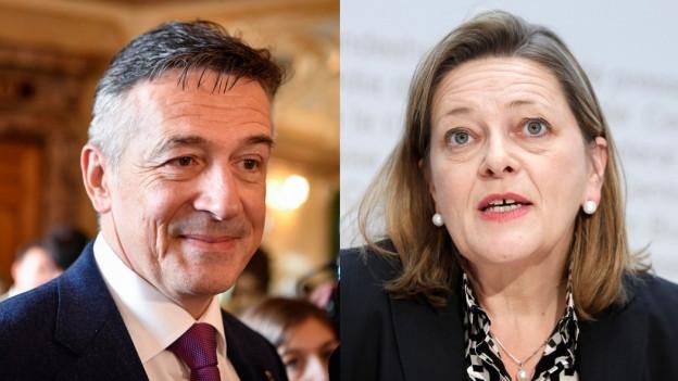 Bundesratskandidaten 2018 aus der Zentralschweiz.