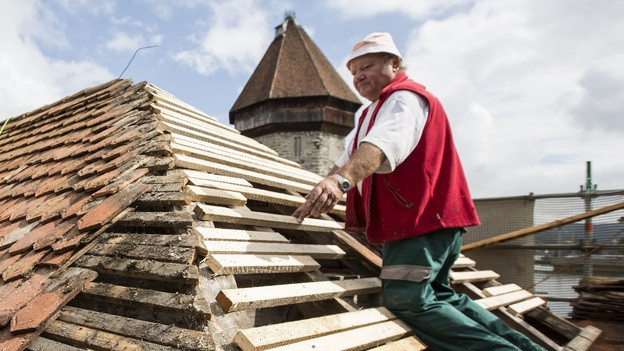 Die Stadt Luzern liegt bei der Bearbeitungszeit von Baugesuchen auf Platz sieben der zehn grössten Schweizer Städte.