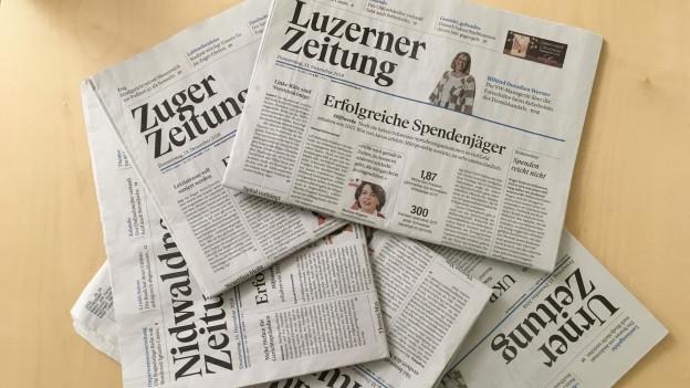 Auch in Aarau sollen Zentralschweizer Journalisten mitarbeiten.