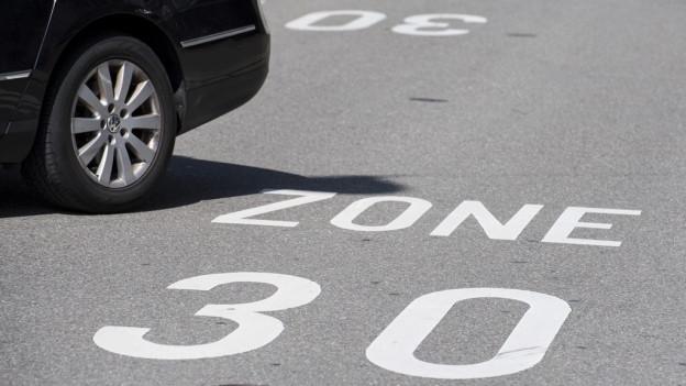Es kann in Luzern mehr Tempo-30-Strassen geben.
