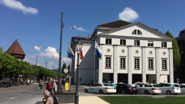 Blick aufs Luzerner Theater.