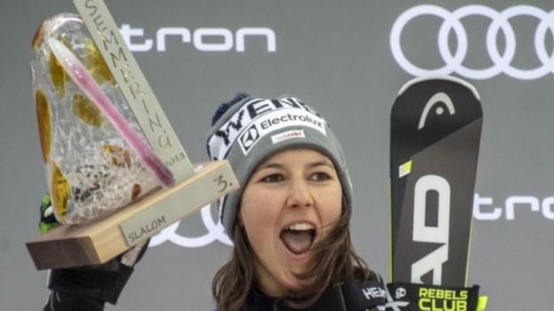 Die Schwyzer Skirennfahrerin Wendy Holdener