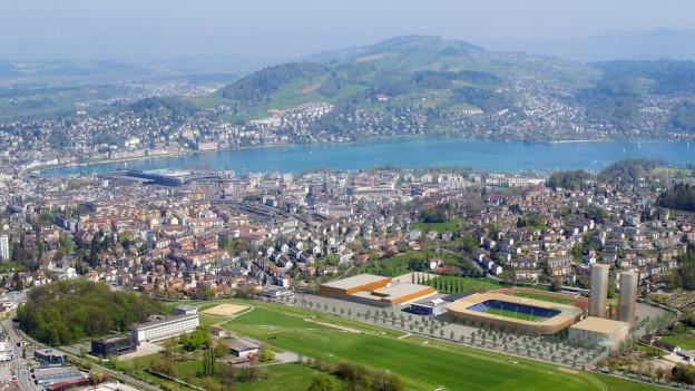 In Luzern sollen keine neuen Bauzonen entstehen.