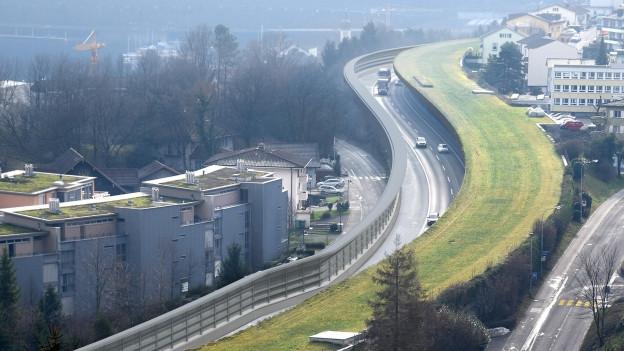 So soll die Autobahn nach den Arbeiten aussehen.