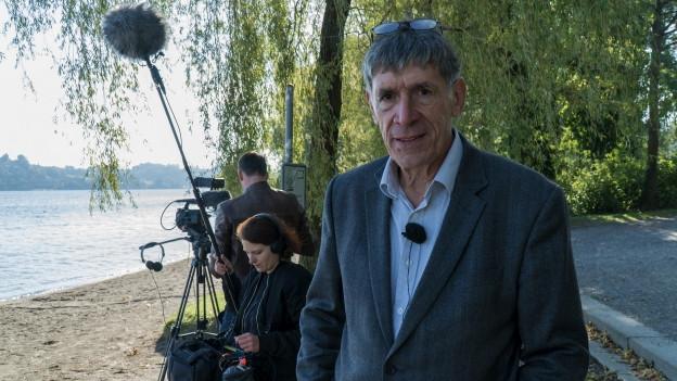 Reinhard Manz, Regisseur von «Kopf oder Zahl», dem Dokfilm über die Luzerner Finanzpolitik