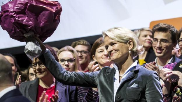 Andrea Gmür soll vom Nationalrat in den Ständerat wechseln.
