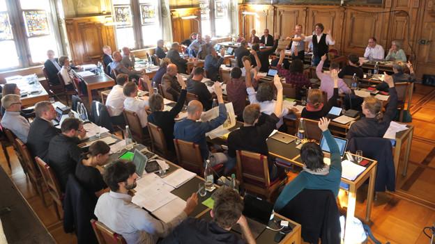 Abstimmung im Luzerner Stadtparlament