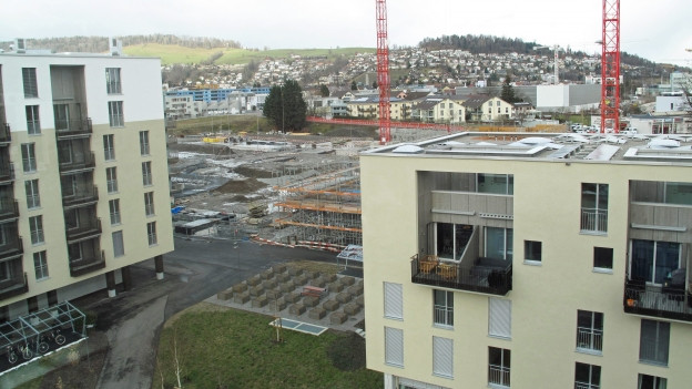 Leerstandsquote der Wohnungen im Kanton Luzern ist hoch, aber nicht kritisch