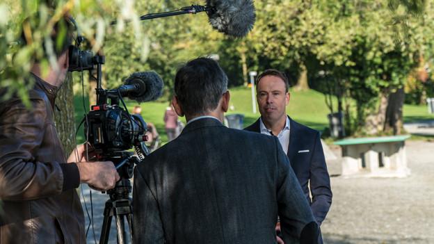 Dreharbeiten zu «Luzern der Film»