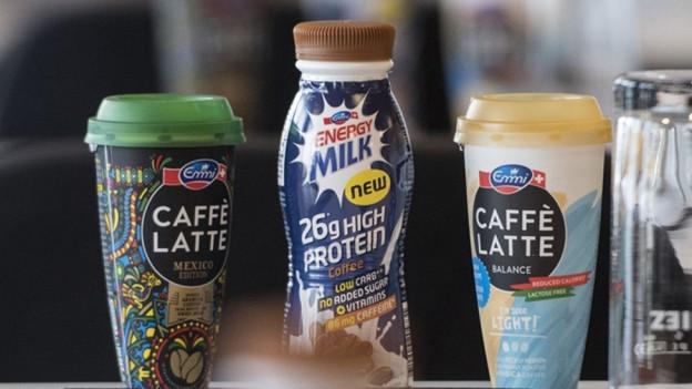 Emmi-Produkt Caffé Latte ist der Renner im Sortiment.