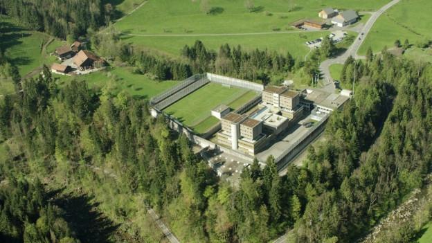 Luftbild der Strafanstalt
