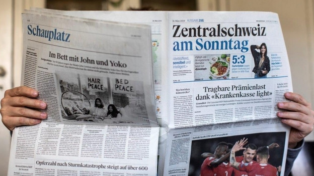 Die «Zentralschweiz am Sonntag» erscheint nur noch bis Ende Juni.