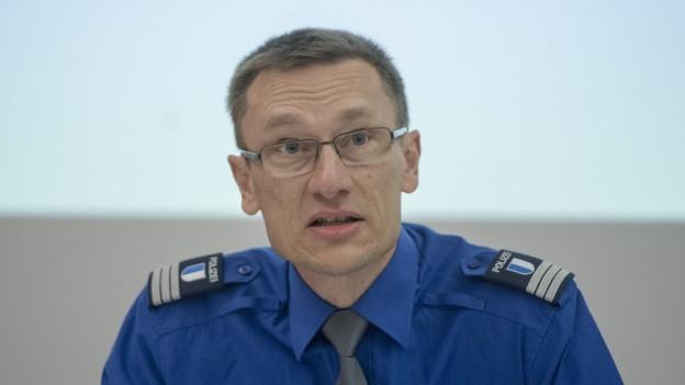 Kommandant der Luzerner Polizei Adi Achermann