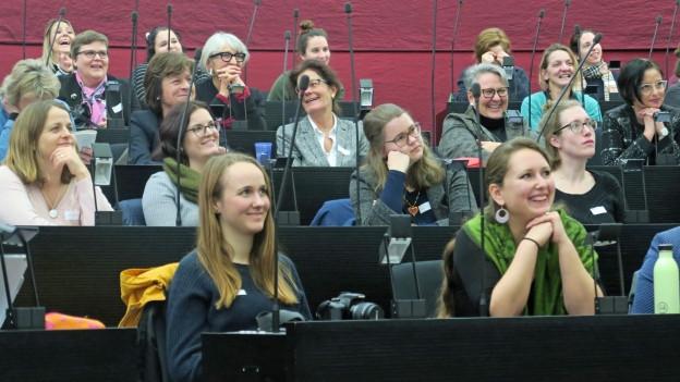 Anlass des überparteilichen Netzwerks «Frauen Luzern Politik».