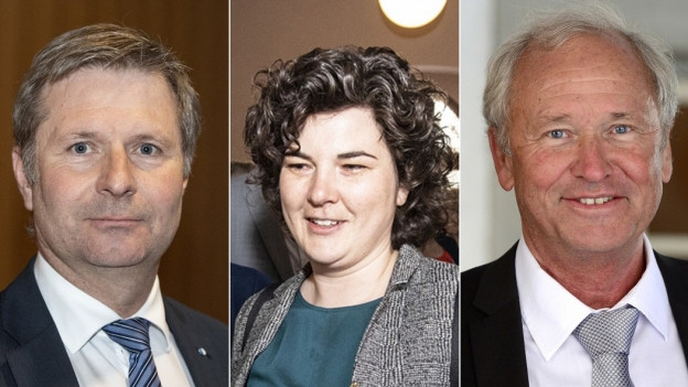 Drei Kandidierende