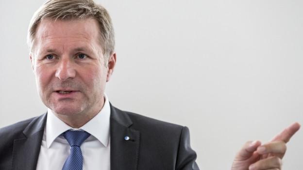 Hat vom Bundesgericht grünes Licht bekommen: Der Luzerner Finanzdirektor Marcel Schwerzmann.
