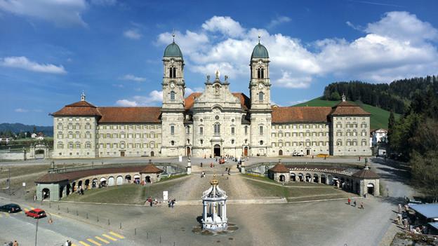 Das Kloster Einsiedeln ist für einen Brand gut vorbereitet.