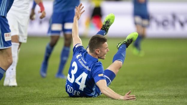 FCl am Boden: Nach einer guten Leistung scheiden die Luzerner im Cup-Halbfinal aus.