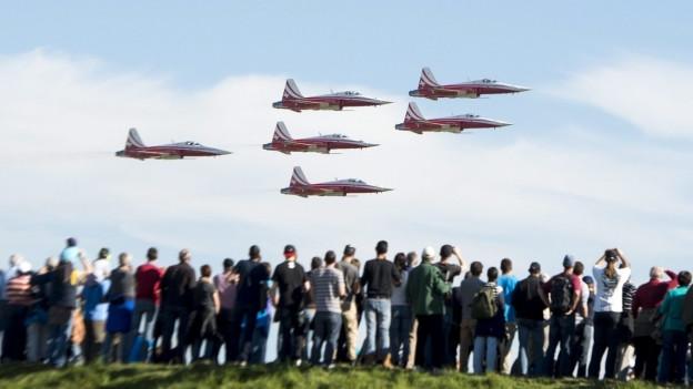 Die Luftwaffe soll auf die geplante Flugshow in Emmen verzichten.
