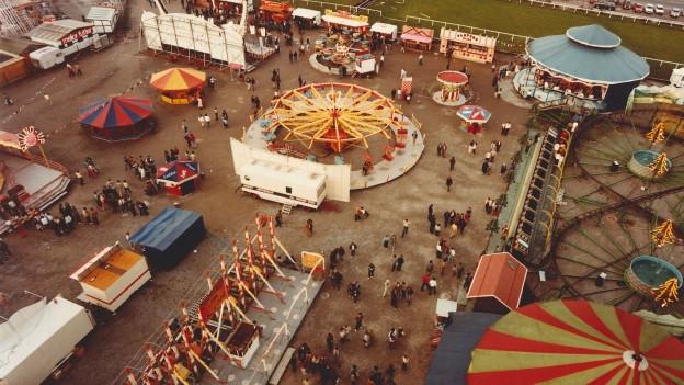 Die Messe mit Luna-Park auf der Luzerner Allmend gehört seit 40 Jahren zum Frühling.