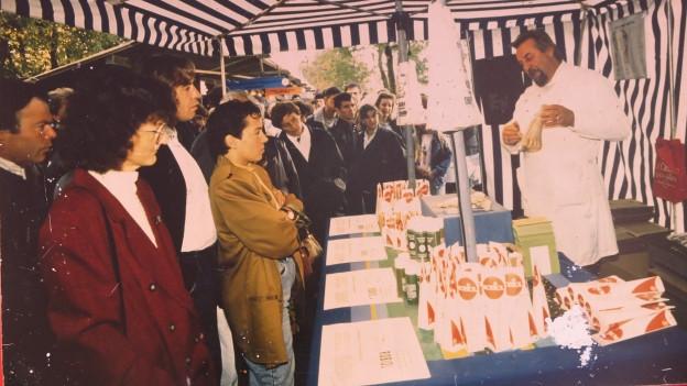 Seit 40 Jahren an der Luga: Die Firma Robiol mit ihrer Fusscreme.