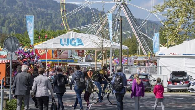 Über 120'000 Besucherinnen und Besucher  zählte die 40. Luga.