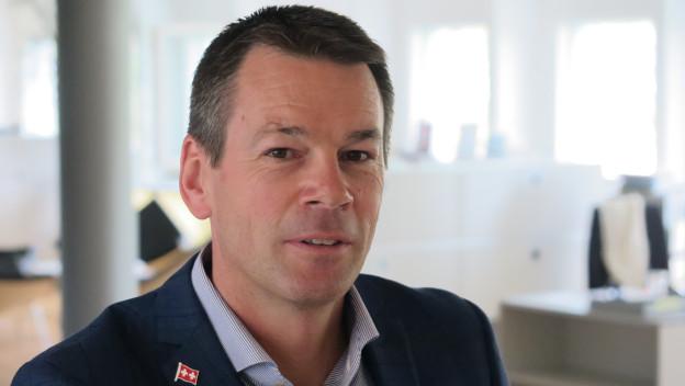 IHZ-Direktor Felix Howald