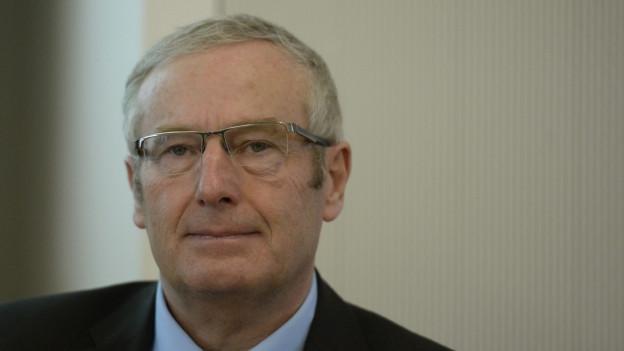 CVP-Alt-Regierungsrat Alois Bissig.