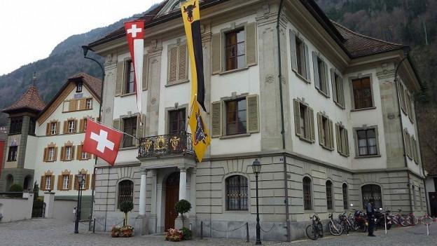 Das Urner Regierungsgebäude in Altdorf - hier tagt der Landrat.