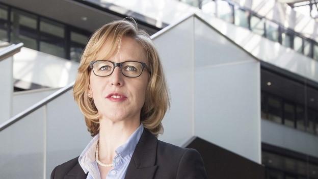 Die Zuger SP-Präsidentin Barbara Gysel kandidiert für den Ständerat.