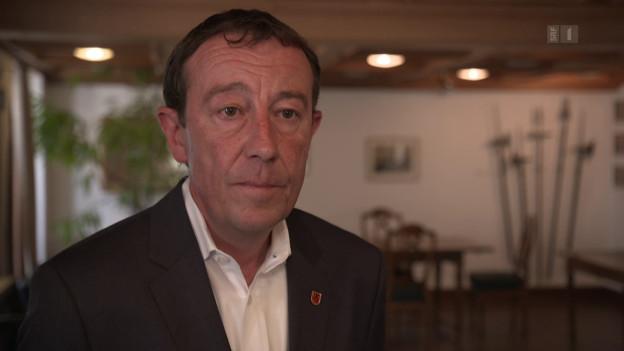 Der Einsiedler Bezirksammann Frank Pirker.